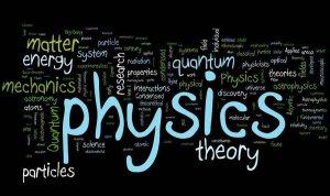 physics words